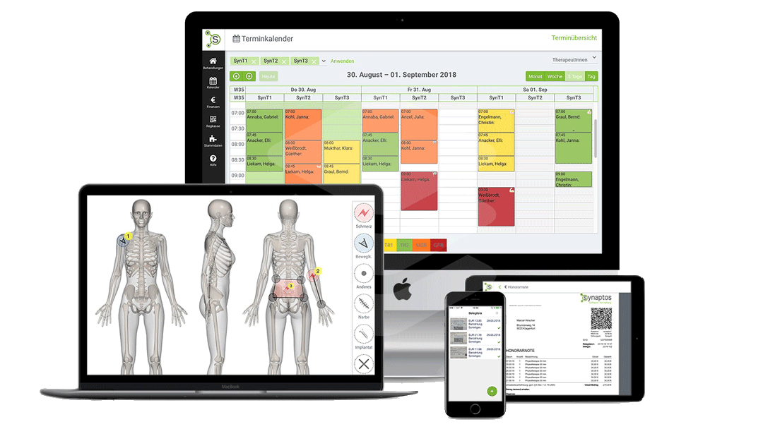 Die massage software smarttherapy